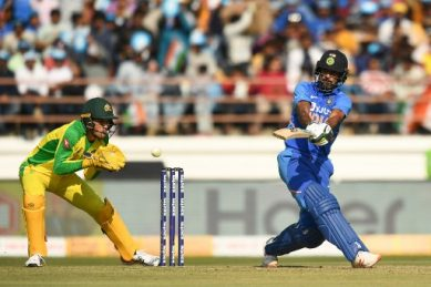 India beat Australia to level one-day series