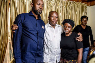 Malema accused of being 'attention-seeking' 'opportunist' following Mpianzi visit