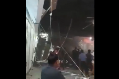 WATCH: 14 injured when ceiling collapses at Bloemfontein mall
