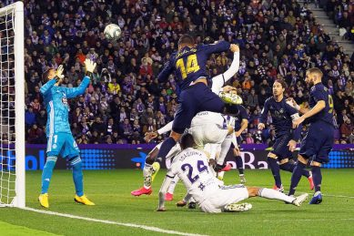 Real Madrid go top with gritty win over Valladolid
